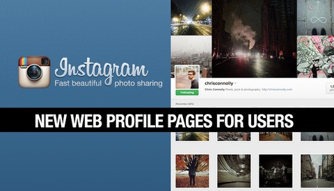 Instagram's New Profile Pages Worth Checking Out