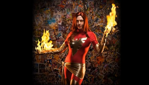 BGZ Studios Sets Xmen's Jean Grey on Fire - BTS