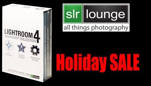 Christmas Sale: SLR Lounge's How To Use Lightroom 4 DVD
