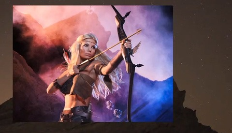 Tips For Shooting On Location - Lights, Cameras, And A Warrior Princess