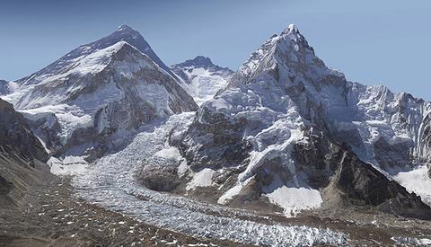Gigapixel Image Of Mt. Everest And The Khumbu Glacier