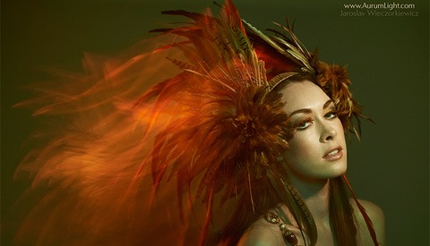 How To Mix Light To Create A Fiery Effect