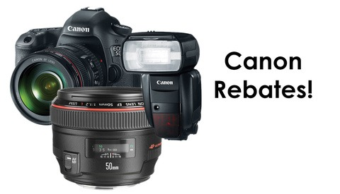 Check Out These Incredible Rebates From Canon! Ending Soon!