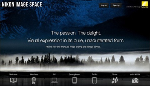 "Nikon Announces Launch of the ""Nikon Image Space"""