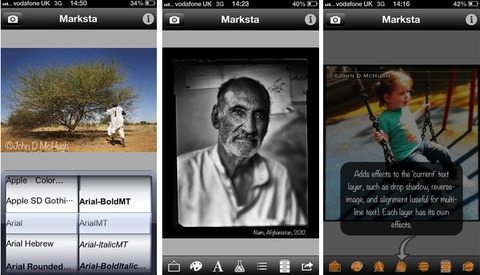 Photojournalist Launches iPhone Watermarking App