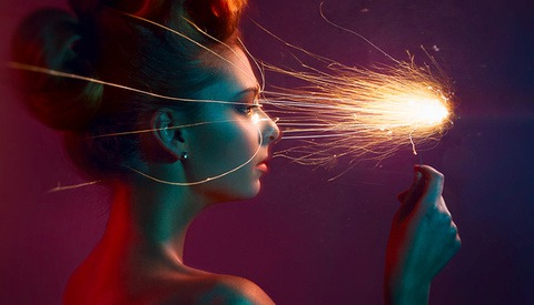 Photo Tutorial on Using a Sparkler in a Beauty Shot