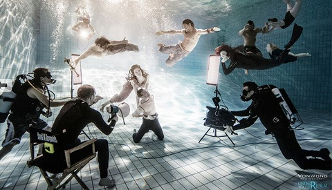 Behind The Scenes: Ben Von Wong Shoots 'The Underwater Realm'