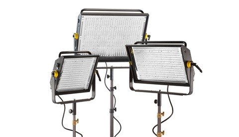 Lowel Now Has Three Pro-Level LED Light Banks