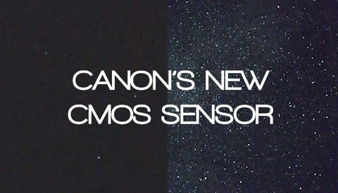 Canon's New CMOS Sensor Can See In The Dark