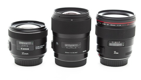 35mm Showdown: Canon, Canon L and Sigma Comparison