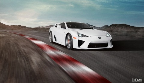 The Making of An Automotive Composite: Lexus LFA