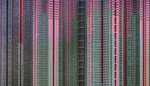 Incredible Photos of Architectural Density in Hong Kong