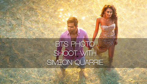 Behind The Scenes Shoot In Italy With Simeon Quarrie