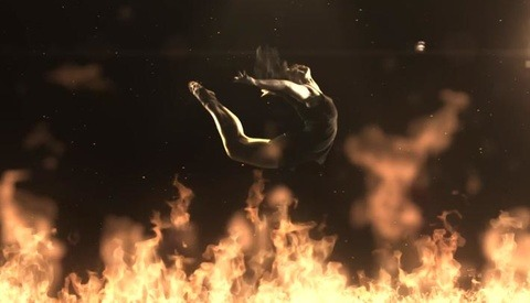 """Fire Flight"" Slow Motion Dancers At 1000fps"