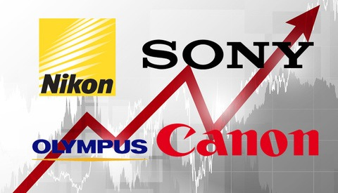 Examining Fiscal Year 2012 Sales for Olympus, Sony, Nikon and Canon