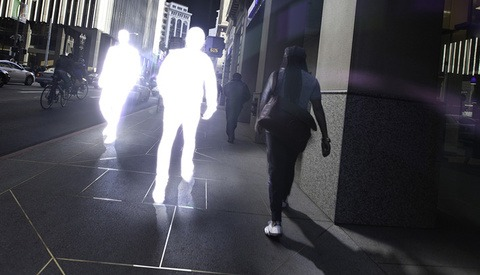 """""""Shining"""" A Series Of Glowing Street Silhouettes"""
