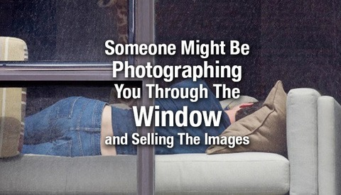 How Would You Feel Being Secretly Photographed in Your House For An Art Exhibit?