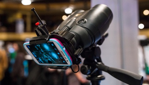 SnapZoom is the New Binocular Mount For Smart Phones
