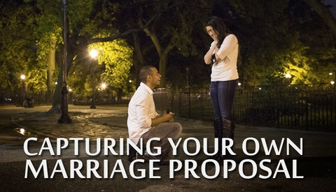 How a Photographer Captured His Own Marriage Proposal