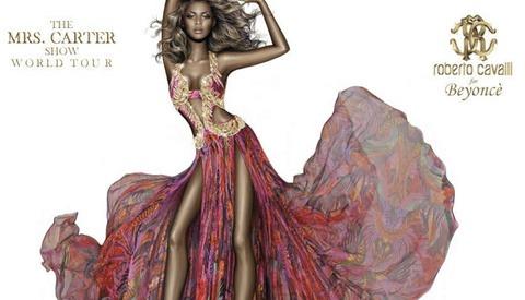 Cavalli Press Release Shows Bizarre Unrealistically Skinny Photoshopped Image of Beyoncé