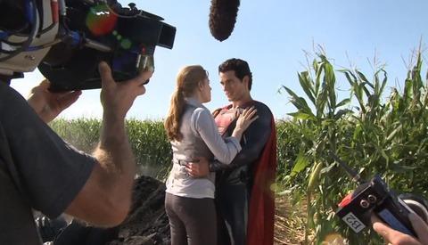 Behind the Scenes of 'Man of Steel'