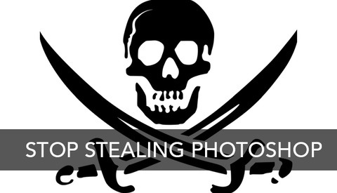 Why You Should Be Offended By The Pirating of Photoshop