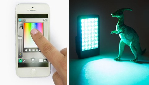 The Kick: Wirelessly Controlled LED Panel From An iPhone