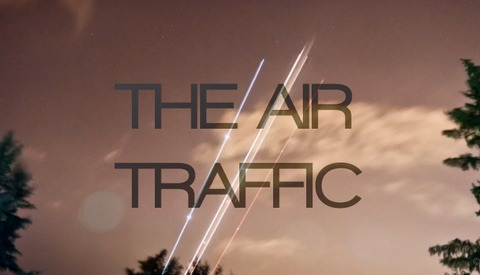 'The Air Traffic' Is A Timelapse Video Of Airplanes Whizzing Across The Sky