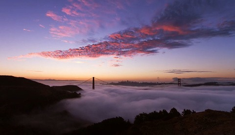 Adrift: 2 Years Of Patience Make One Incredible Timelapse Of Foggy San Francisco
