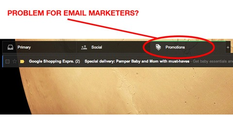 Gmail's New Tabs Negatively Affect Your Email Marketing Strategy