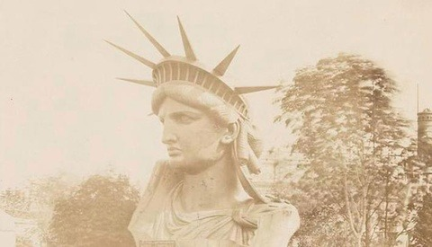 Rare Photographs of Lady Liberty