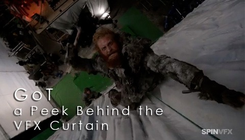 Game of Thrones Season 3 - Behind the SFX curtain