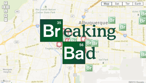Photo Overlay Re-Creates Breaking Bad Scenes