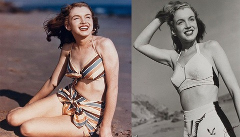 Vintage Photographs From Early Marilyn Monroe Photoshoot