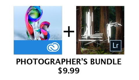 Just Announced: Photoshop and Lightroom Bundle for $9.99 a Month