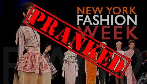 Fashion Week Gets Pranked by Jimmy Kimmel