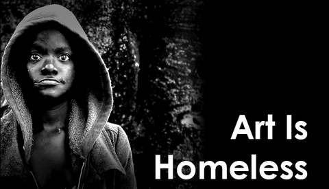 16-Year-Old Twin Brothers Document Homelessness as Art