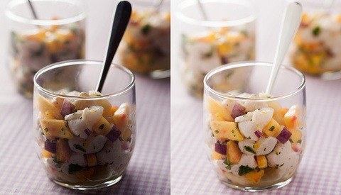 Food Styling and Lighting with Ceviche