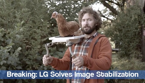 LG Unveils New Ultra-Stable Chicken Cam