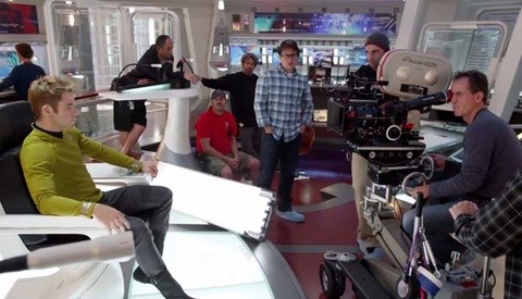 BTS: A Look Into The Creation Of The Beautiful 'Star Trek Into Darkness' CG Title Scene