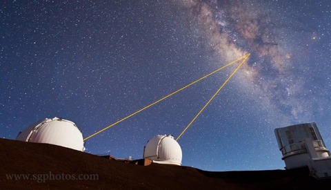 Space Out With This Timelapse Video Of Telescopes Shooting Lasers Into Space