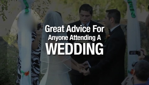 Attending A Wedding Soon? Be Sure To Watch This Video
