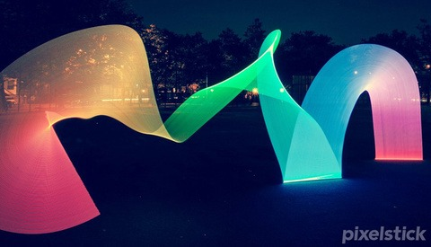 Pixelstick - Light Painting Evolved