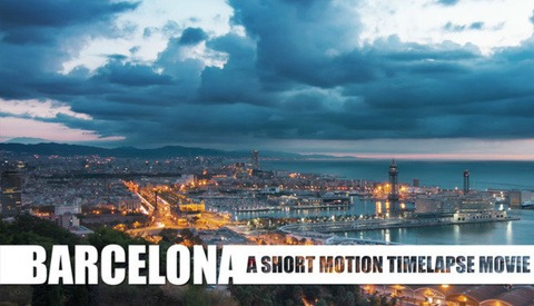 Incredible Timelapse of Barcelona Took 480gb of Images to Create