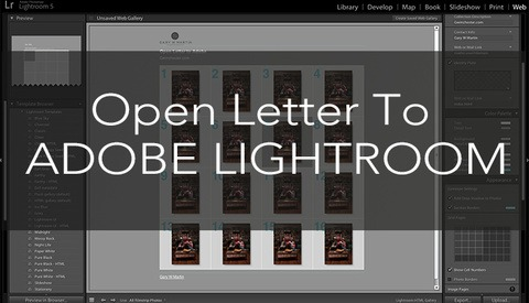 An Open Letter To Adobe Lightroom