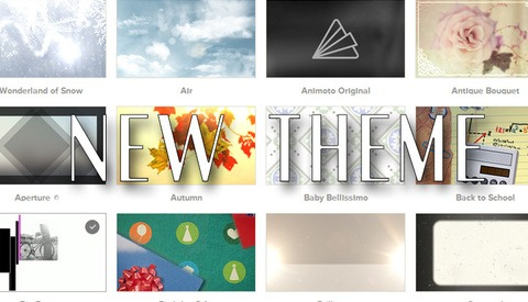 Do You Use Animoto? Check Out This New Simple Theme