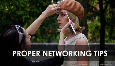 Proper Networking Technique by British Model Jen Brook
