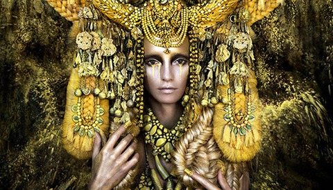 Kirsty Mitchell Returns With This Spectacular Entry In The Wonderland Series Finale