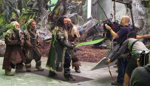 """A Behind the Scenes Look at """"The Hobbit: The Desolation of Smaug"""""""
