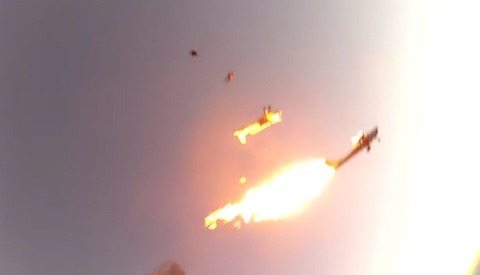 Sky Divers Record 2 Planes Colliding In Flight